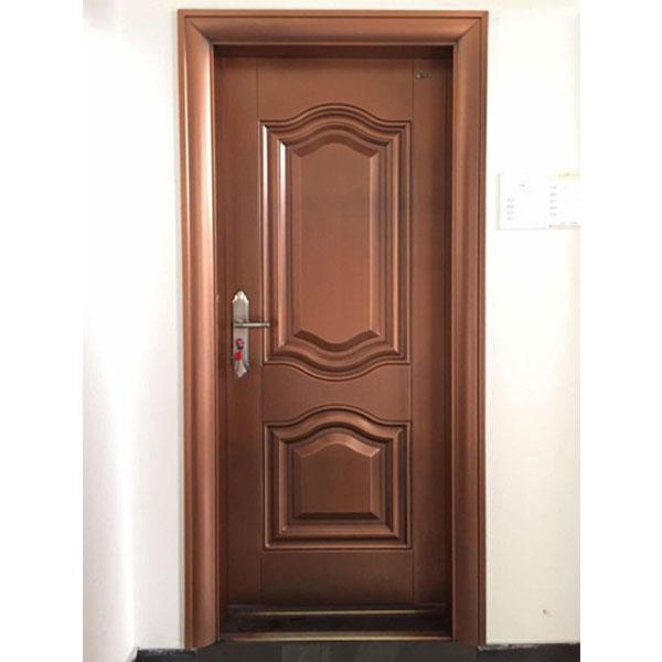仿真钢质铜室内门