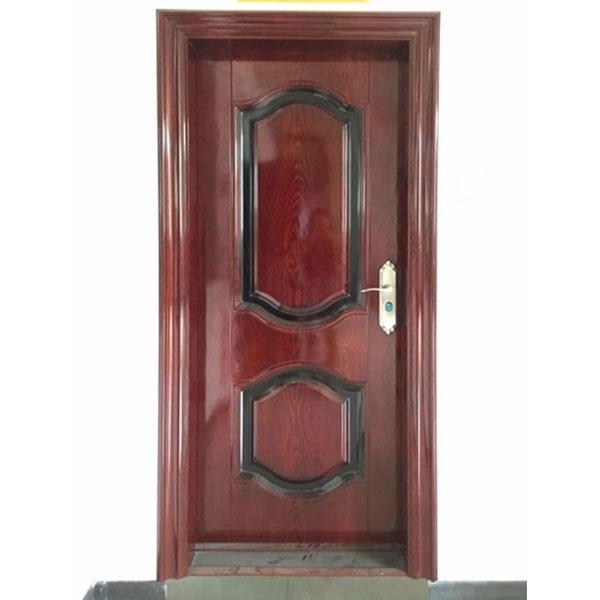 转印钢质室内门
