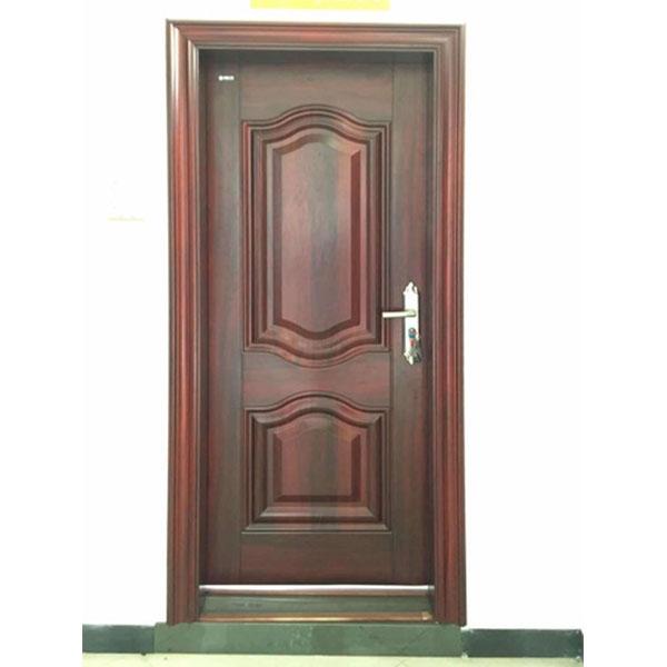钢质室内门橡木红