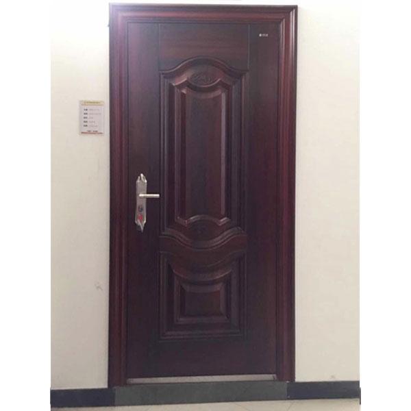 橡木红钢质门